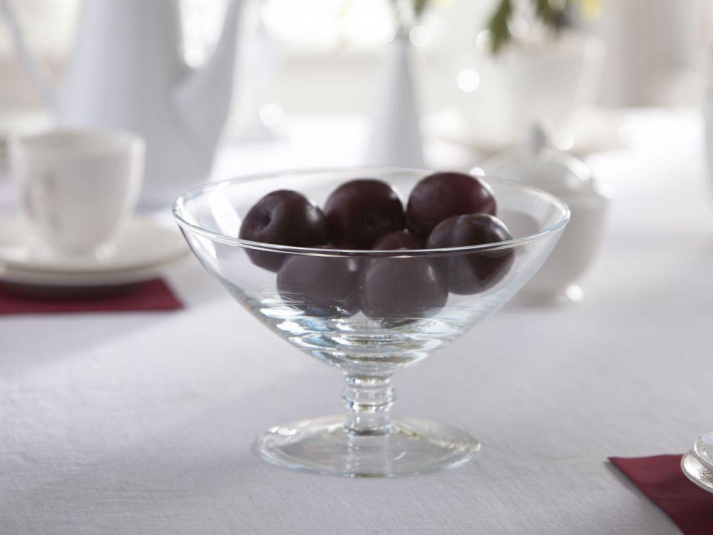 Miska / Puchar / Salaterka na nodze szklana Edwanex 23 cm