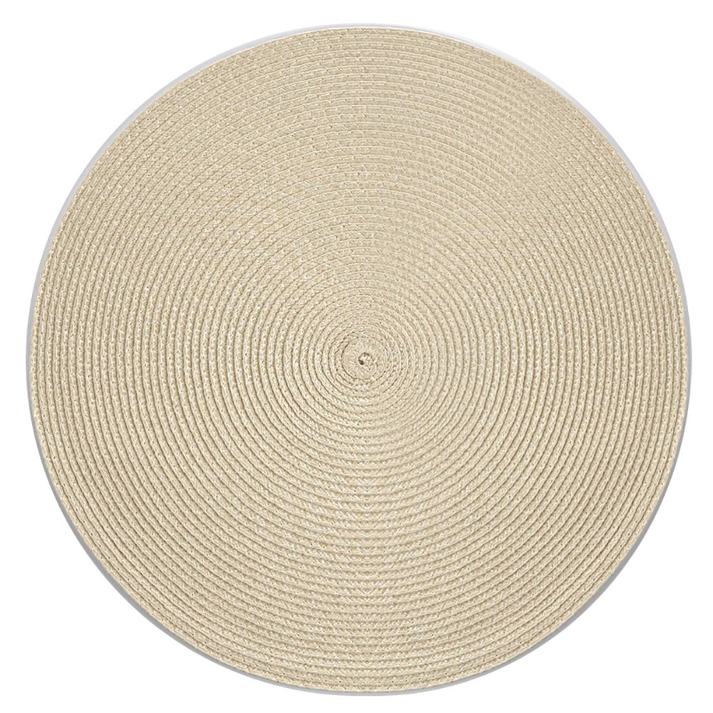 Podkładka / Mata na stół słomkowa Altom Design Beżowa 38 cm