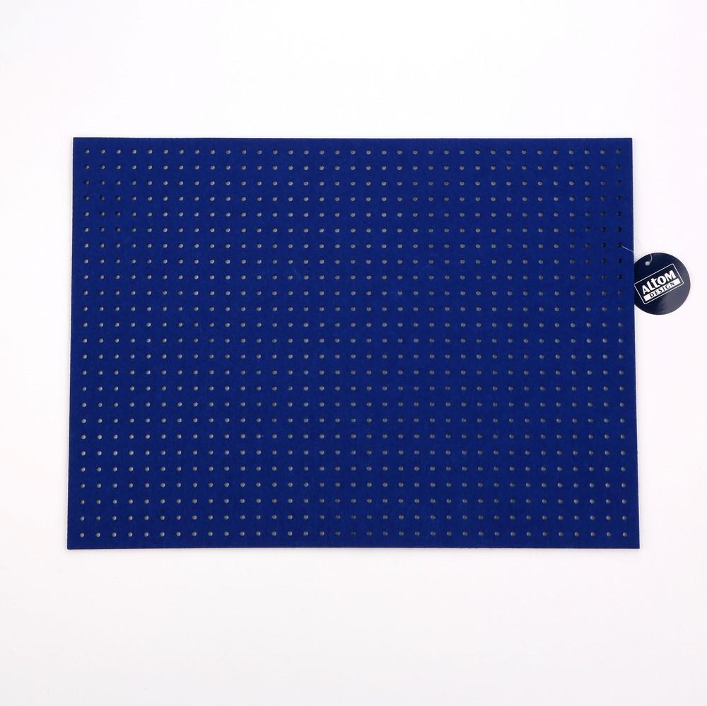 Podkładka / Mata na stół filcowa Altom Design Kobaltowa 45x33 cm