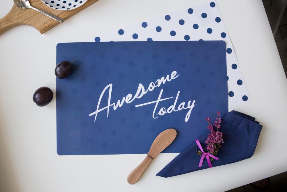 Podkładka na stół / Mata stołowa Altom Design Today 28x43 cm (3 wzory)