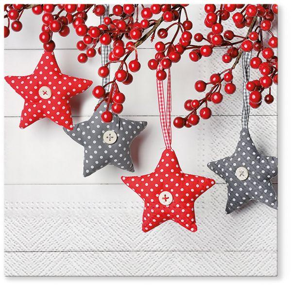 Serwetki papierowe świąteczne Boże Narodzenie AKU 33 cm (20 sztuk)