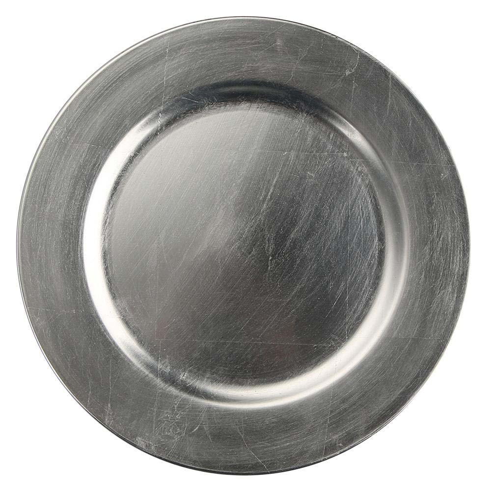 Podkładka pod talerz / na stół Altom Design Srebrny 33 cm