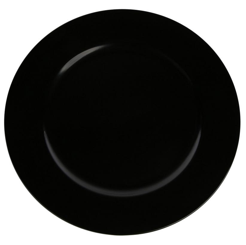 Podkładka pod talerz / na stół Altom Design Czarna 33 cm