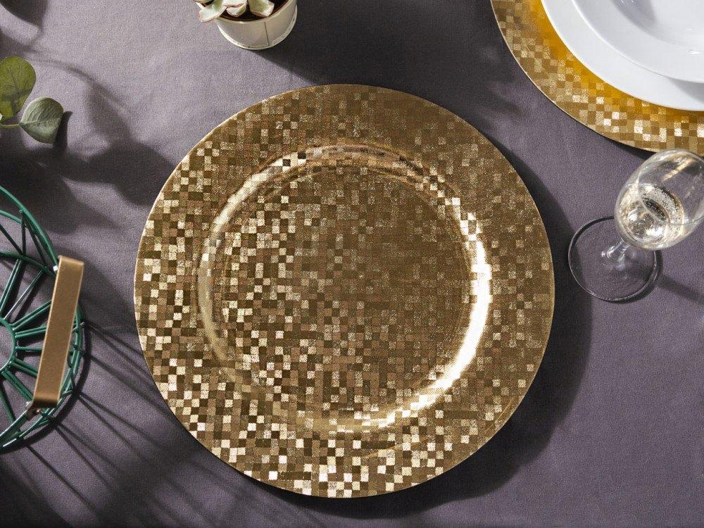 Podkładka pod talerz / na stół Altom Design Kwadraciki 33 cm