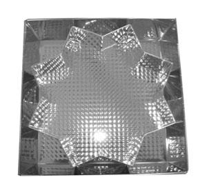 Blacha / Forma Fakturowana Non-Stic SNB Gwiazdka Czarna 25x11x7,5 cm