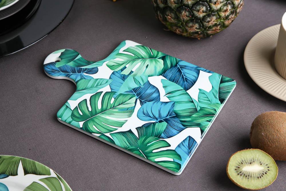 Deska ceramiczna / podkładka pod garnek Altom Design Urban Jungle 18x23 cm