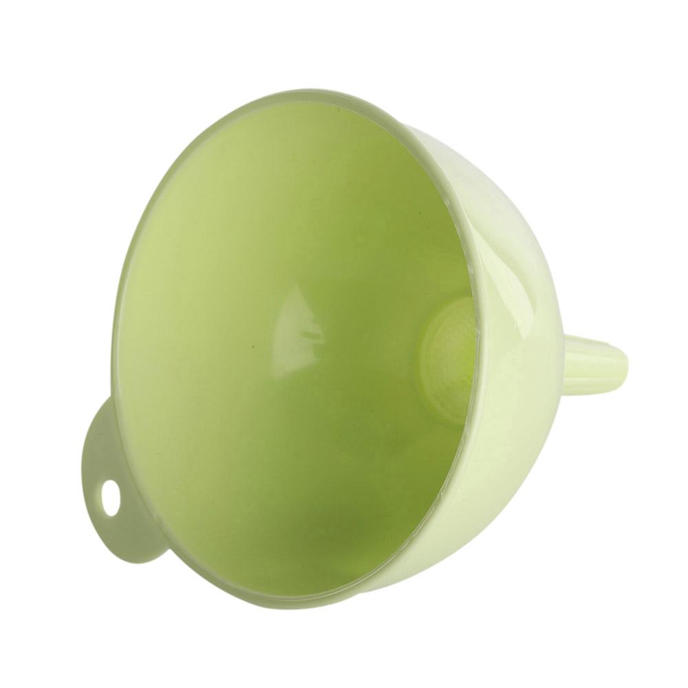 Lejek z sitkiem plastikowy Warmel 12,5 cm