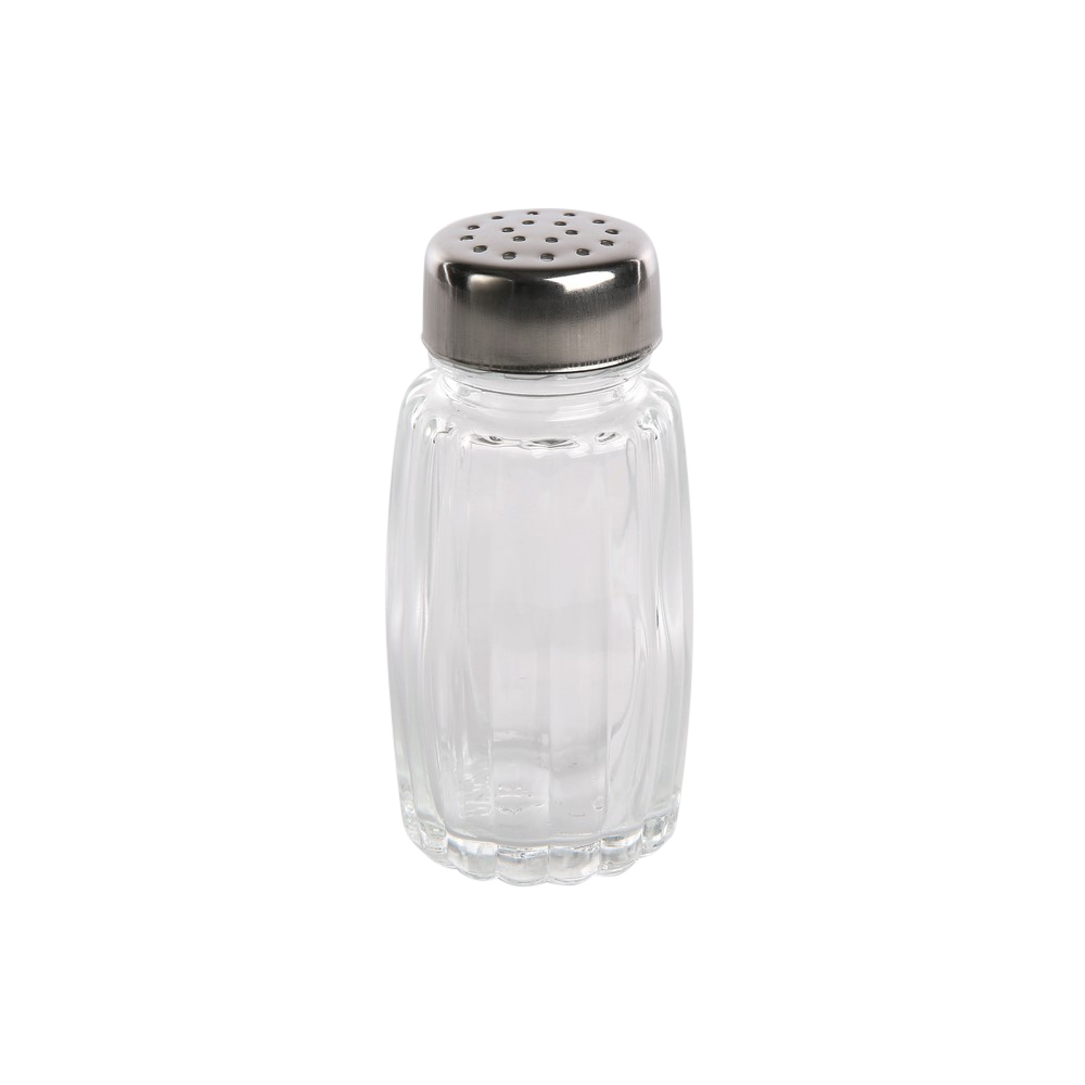 Solniczka szklana pokrywka nierdzewna Practic 50 ml