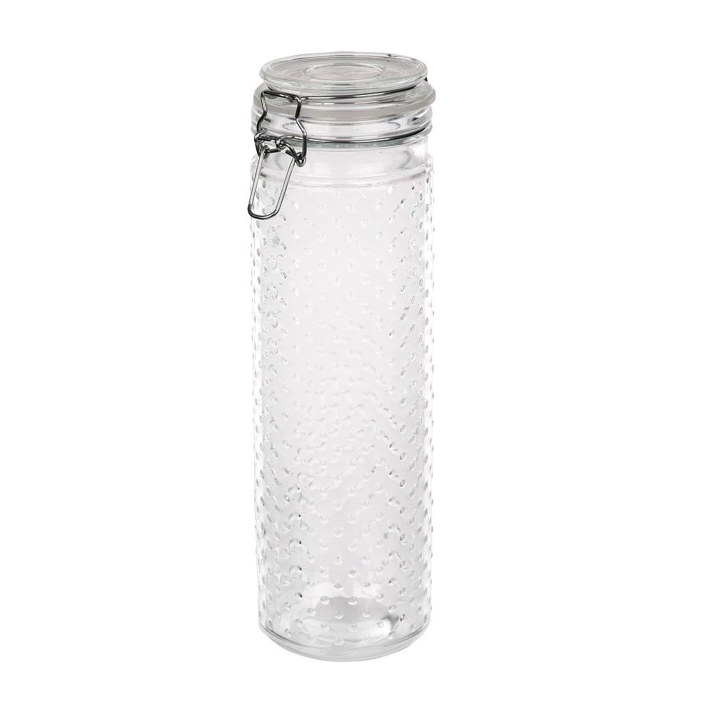 Słoik / pojemnik szklany w kropki do przechowywania żywności Altom Design 1800 ml