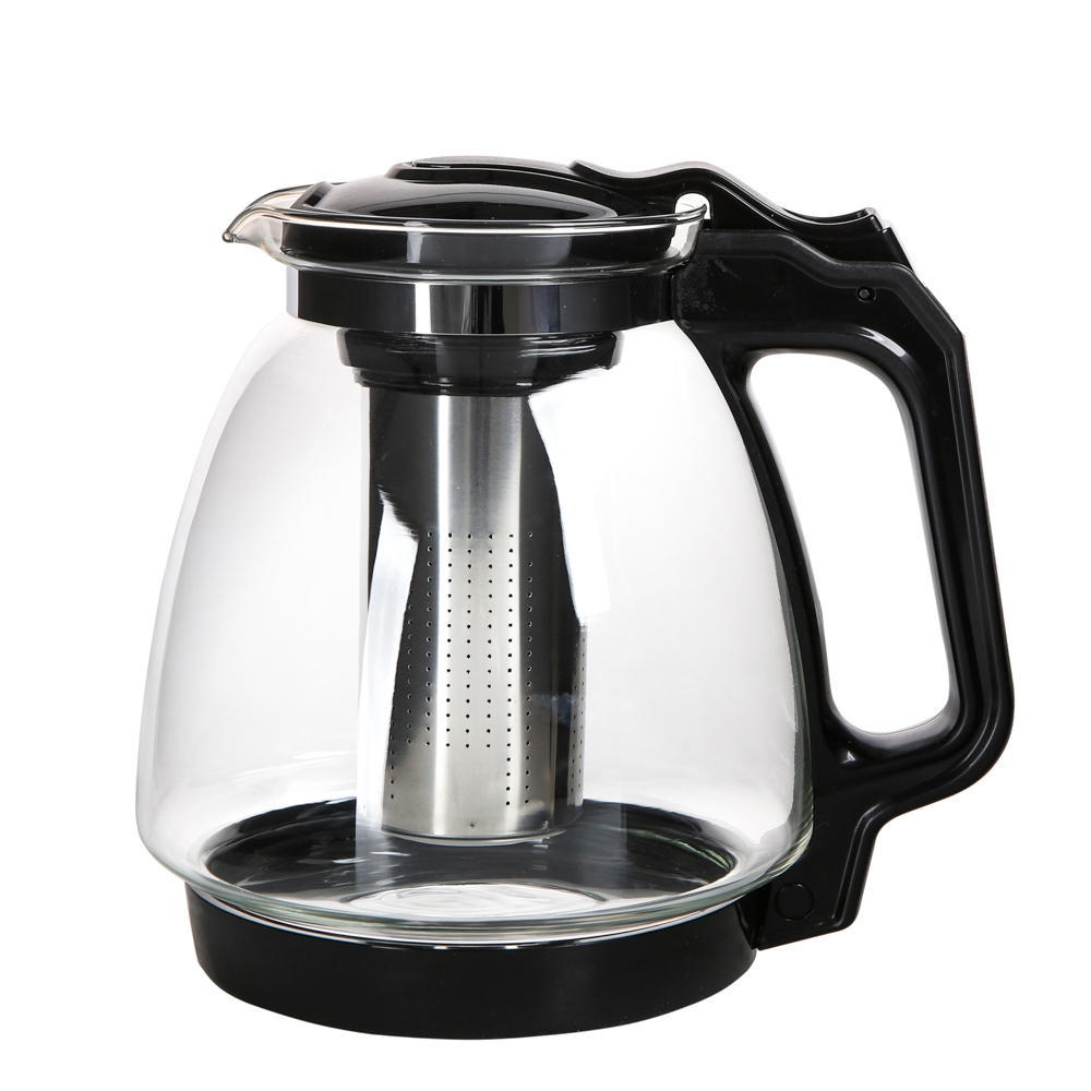 Dzbanek / czajniczek z zaparzaczem do herbaty i kawy szklany Altom Design 2,2 l