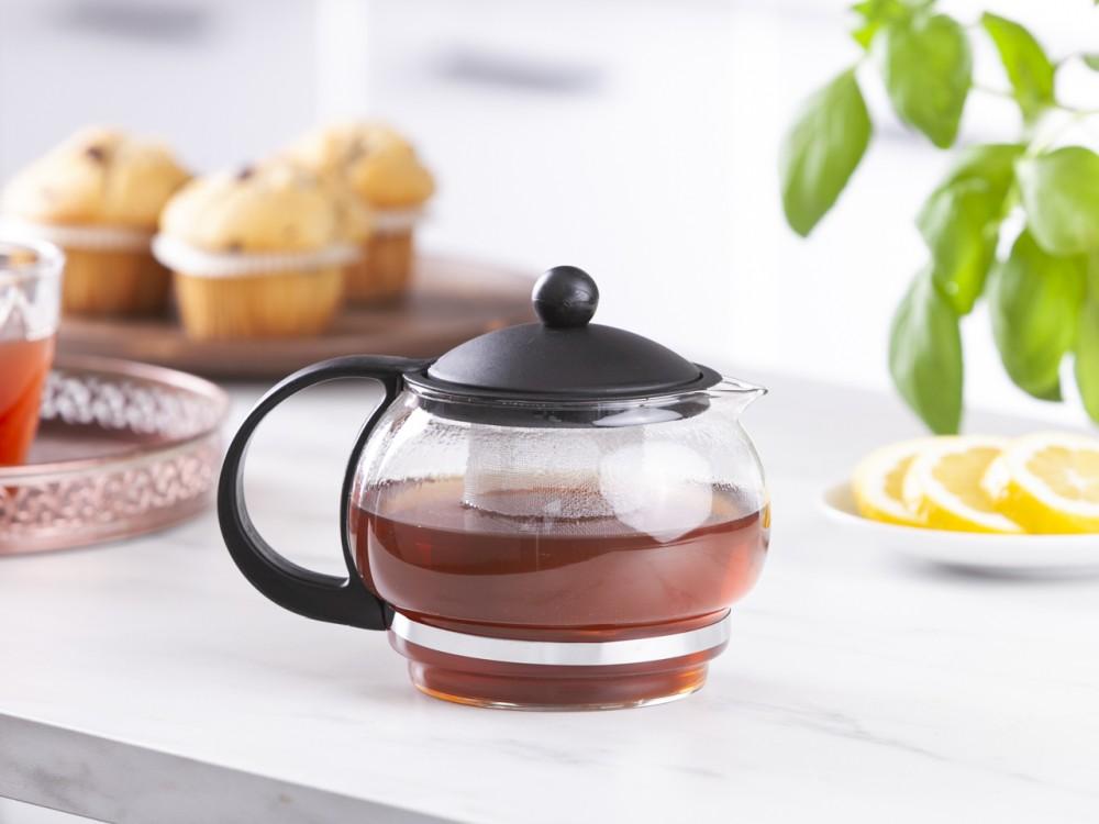 Dzbanek / Czajnik do herbaty szklany Aneks 800 ml