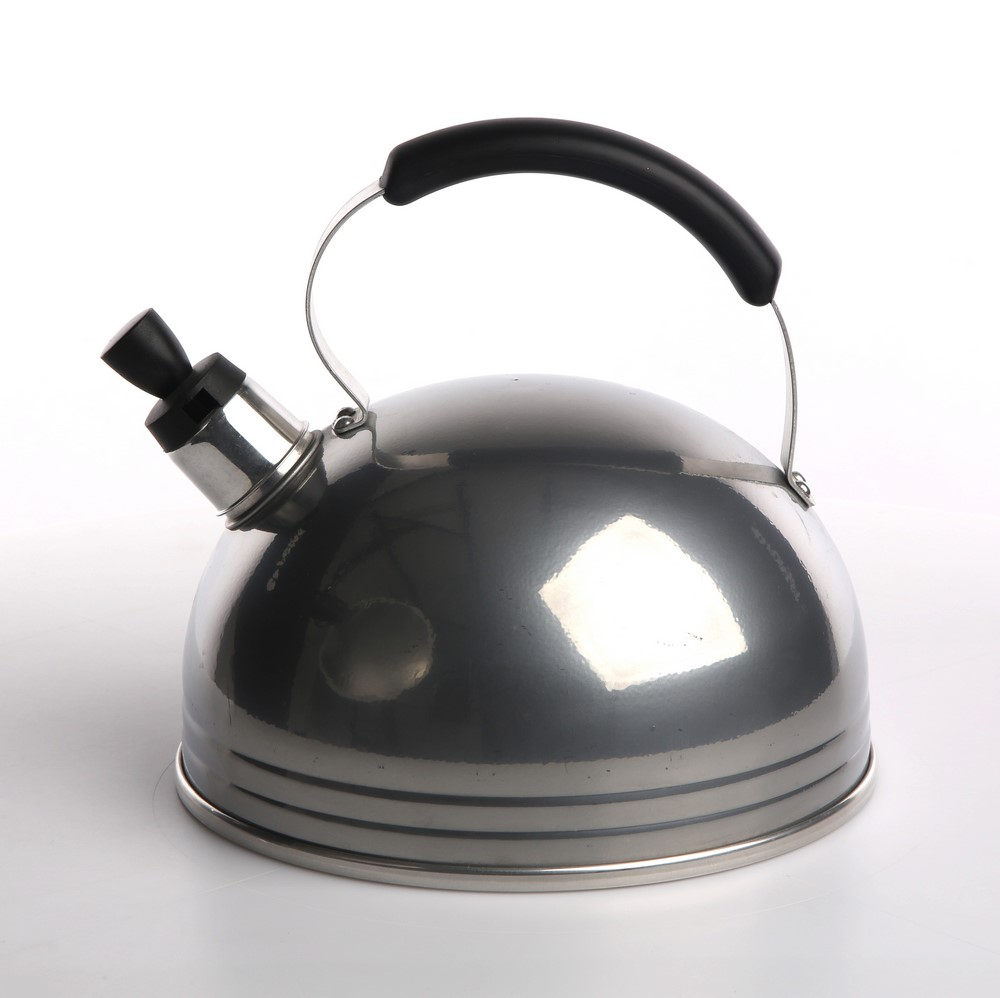 Kettle 3l solid handle transp. 230t silver