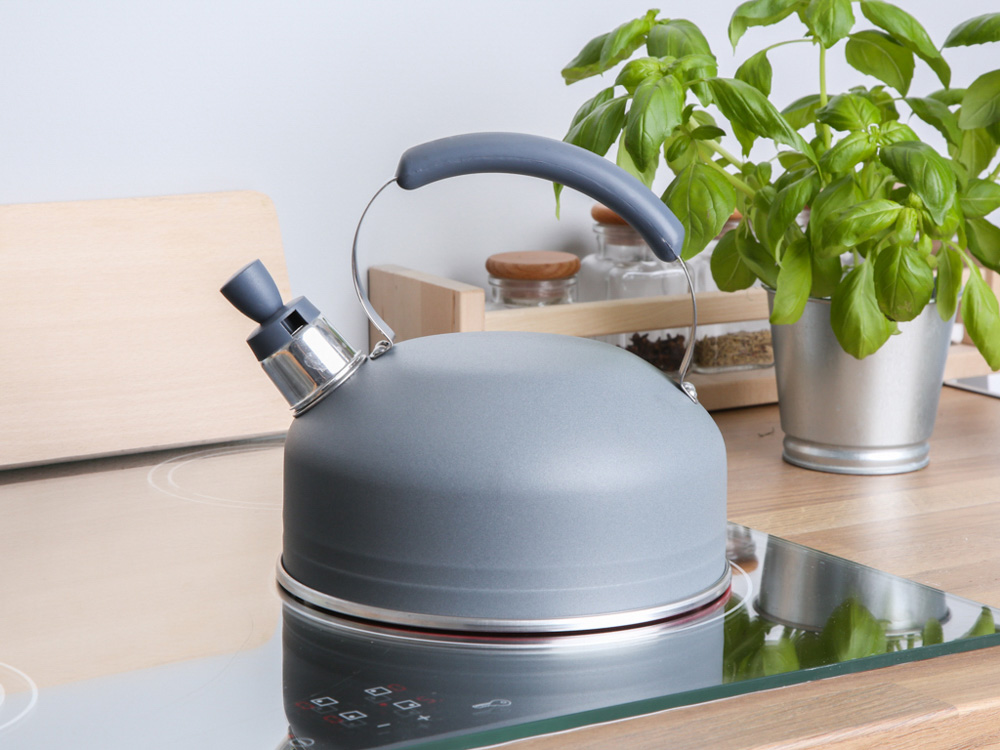 Kettle 2l fixed handle anthracite