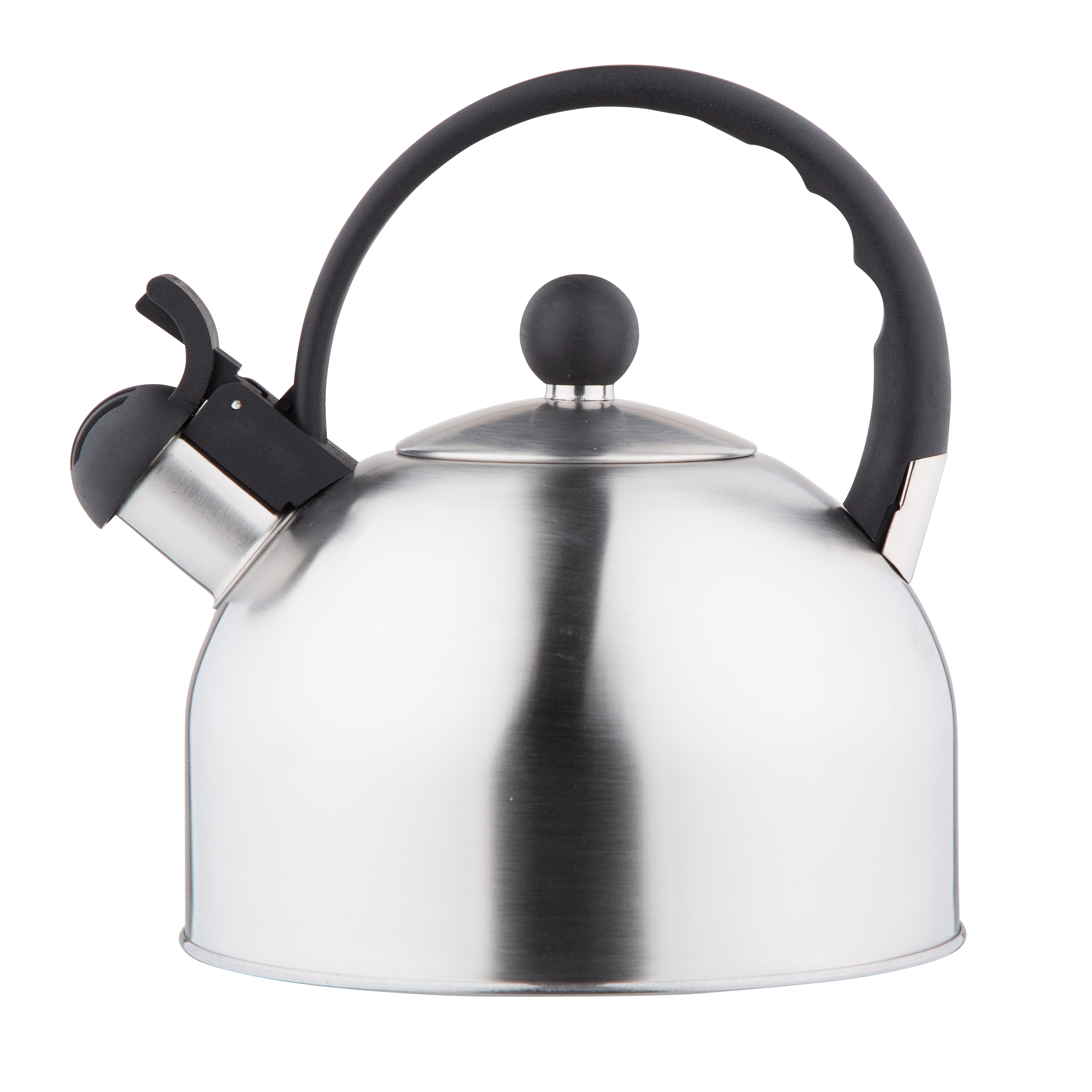 Stainless steel whistling kettle Daily satin 2,5l.