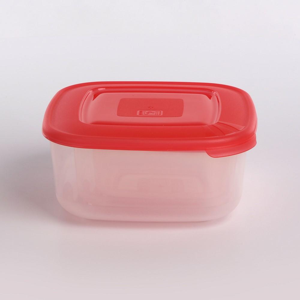 Śniadaniówka / pojemnik na śniadanie / do przechowywania Tontarelli Family Food kwadratowy, zestaw 3 pojemników