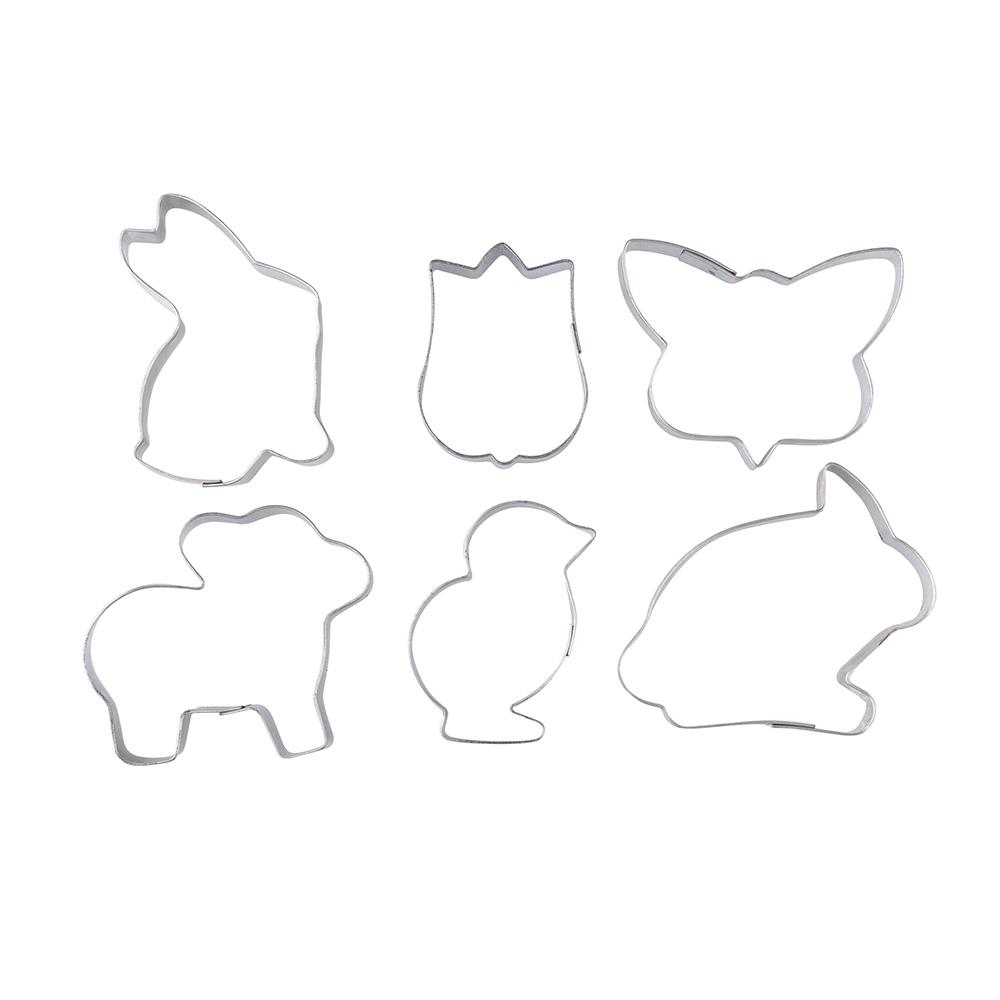 Forma do ciastek / Wykrawacze Wielkanocne Tarmex (6 sztuk)
