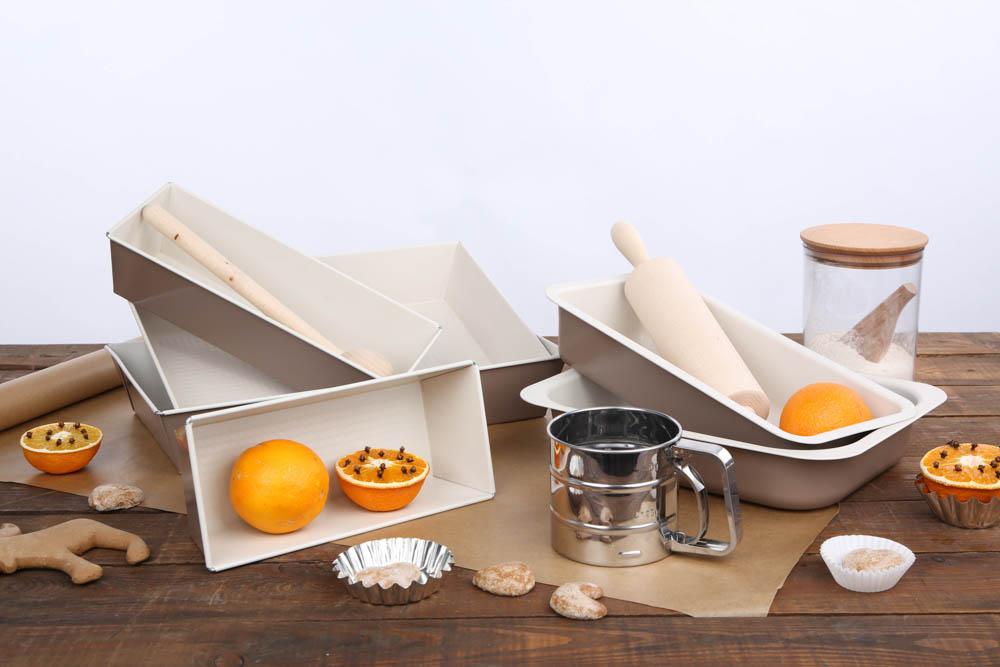 Keksówka, forma do pieczenia chleba i ciasta SNB