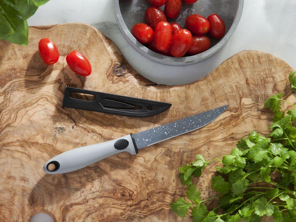 Nóż uniwersalny z osłoną ostrza Altom Design Rock 12 cm