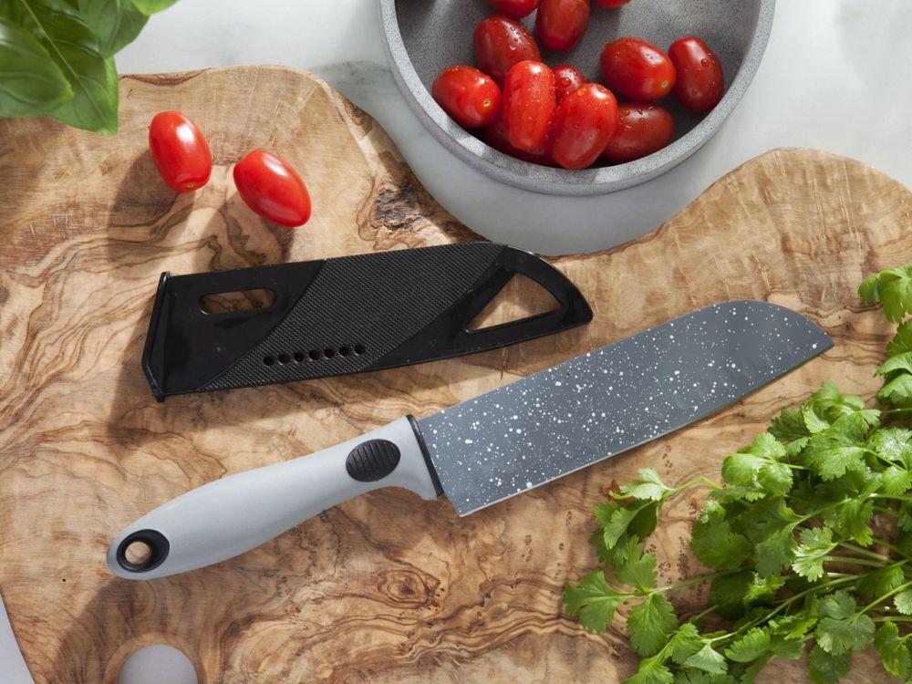 Nóż szefa kuchni z osłoną ostrza Altom Design Rock 20 cm