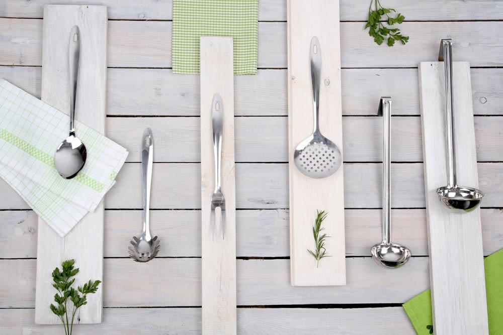 Szumówka kuchenna ze stali nierdzewnej Altom Design 31 cm