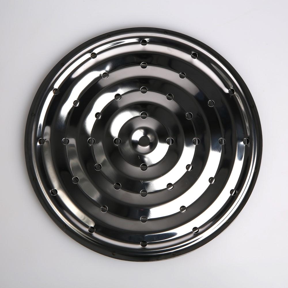 Płytka / Podstawka na gaz nierdzewna Szcześko 18 cm