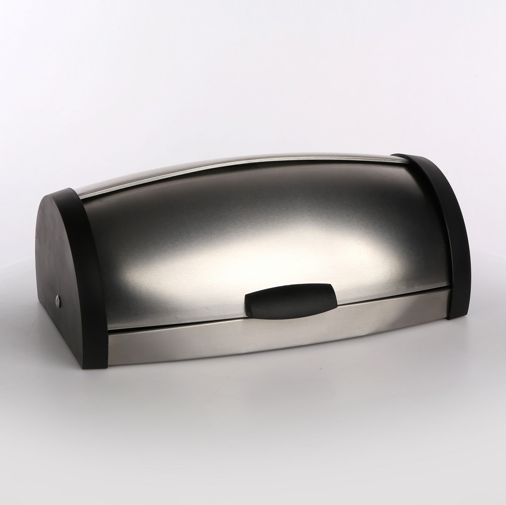 Chlebak ze stali nierdzewnej Altom Design czarny