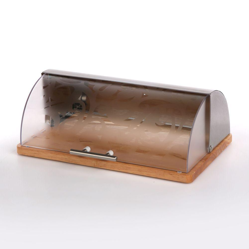 Chlebak ze stali nierdzewnej z pokrywą akrylową Altom Design