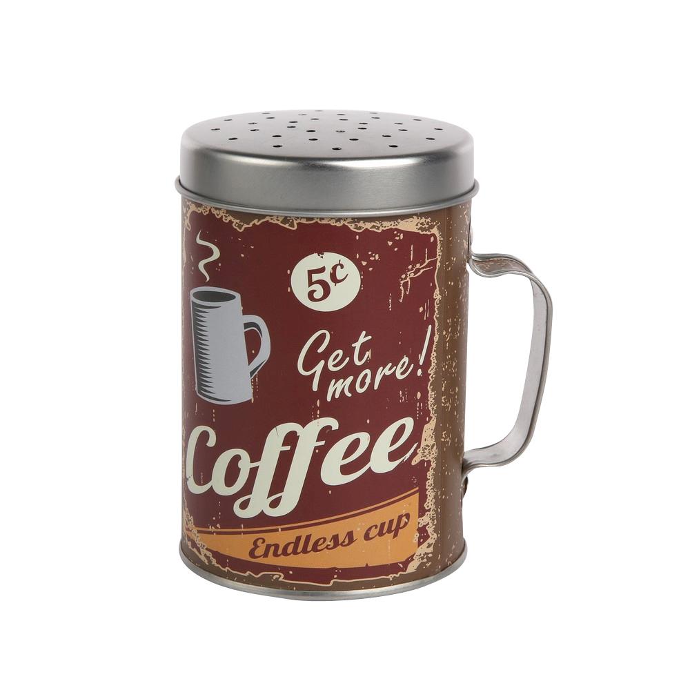 Dyspenser / Sitko do produktów sypkich Altom Design dek. Coffee 6,5x10 cm