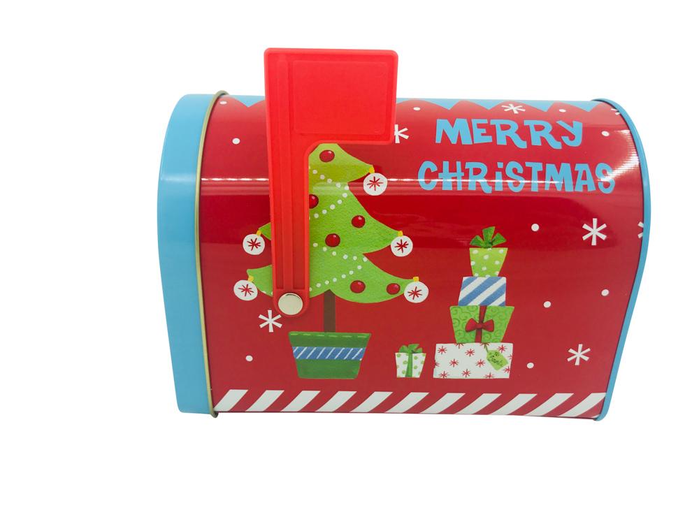 Mail box christmas tree design 15,5x9,5x11 cm