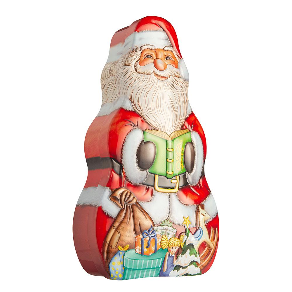 Santa Claus tin box 13x23x6 cm