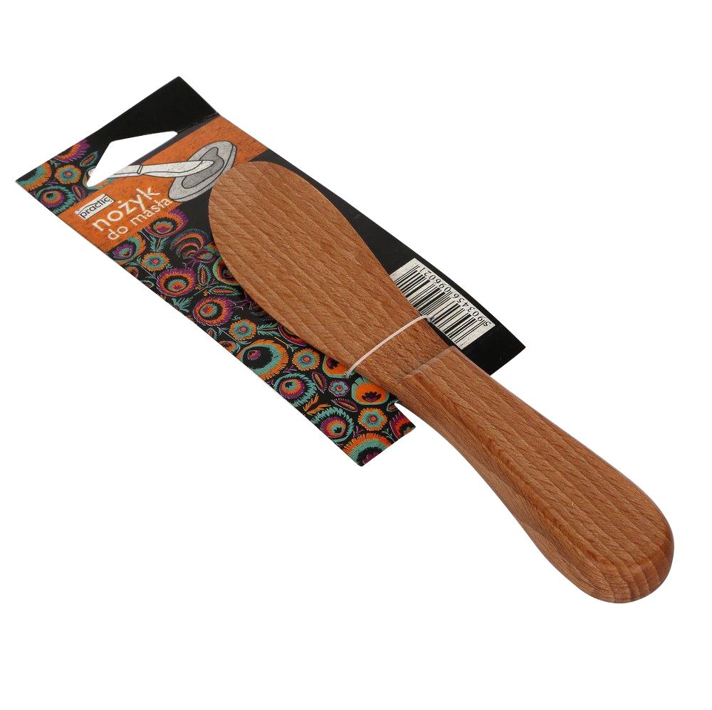 Nożyk do masła drewniany