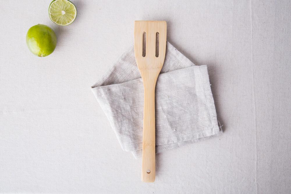 Organic łopatka bambusowa 30 cm/Bądź Eko