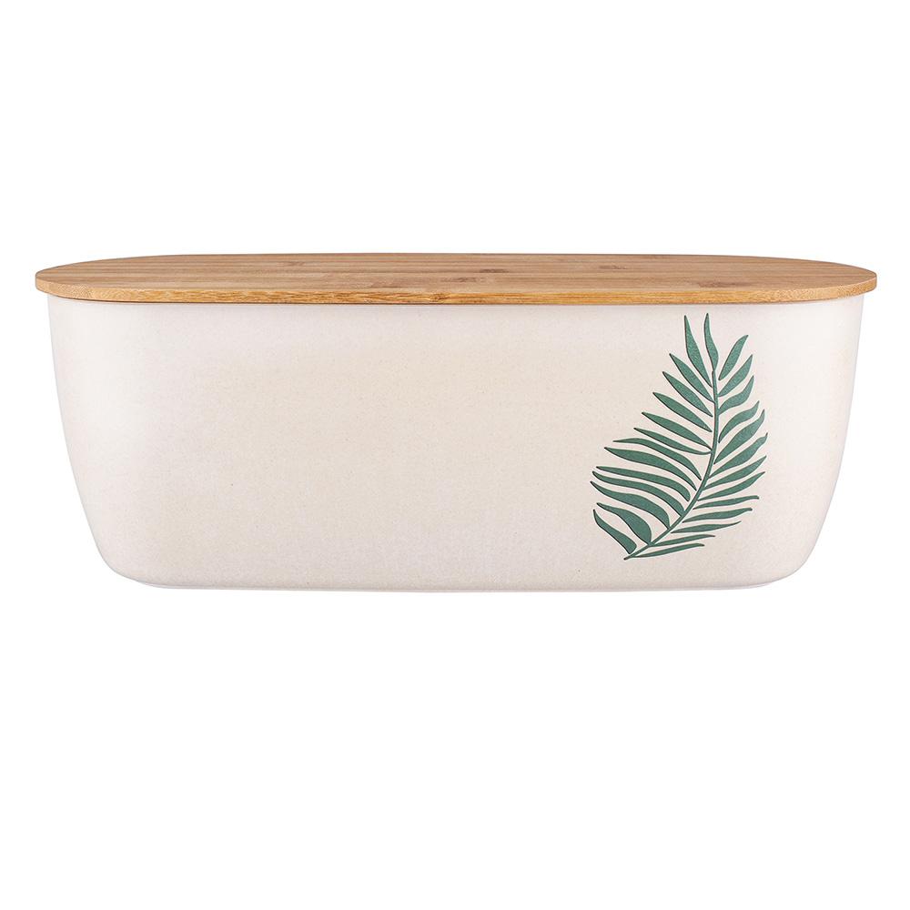 Chlebak bambusowy z pokrywą 35x20x13,5 cm/Bądź Eko