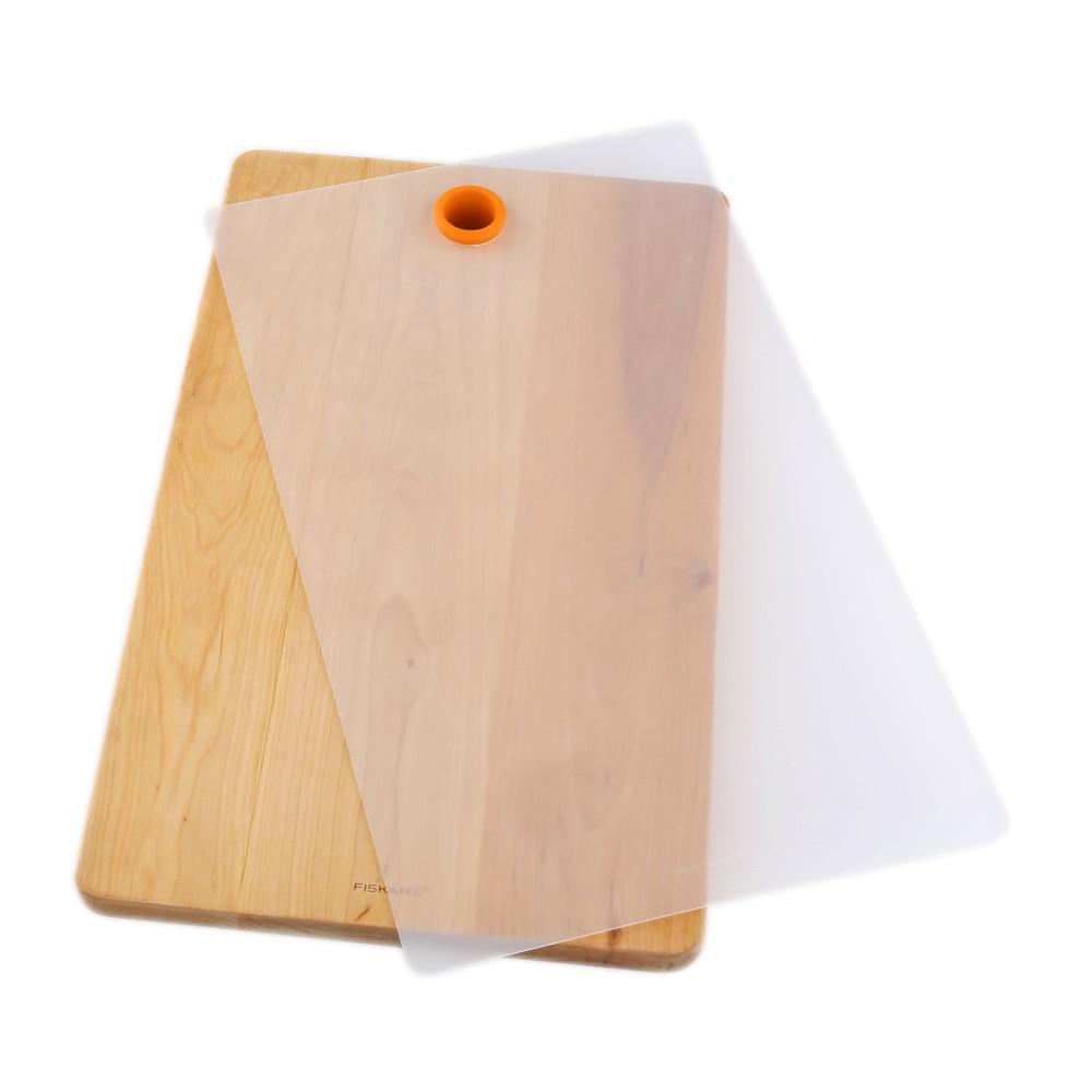 Deska do krojenia Fiskars Functional Form drewniana 2 elementy (1014229)