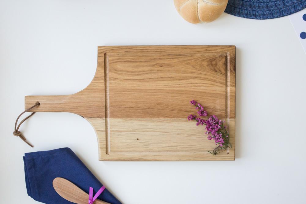 Deska do krojenia dębowa 41 cm