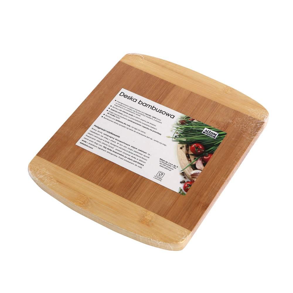 Deska do krojenia Altom Design bambusowa 21x25 cm