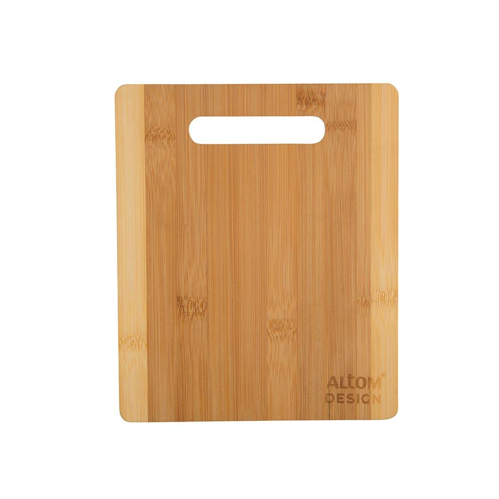 Organic deska bambusowa 21x25x1 cm/Bądź Eko