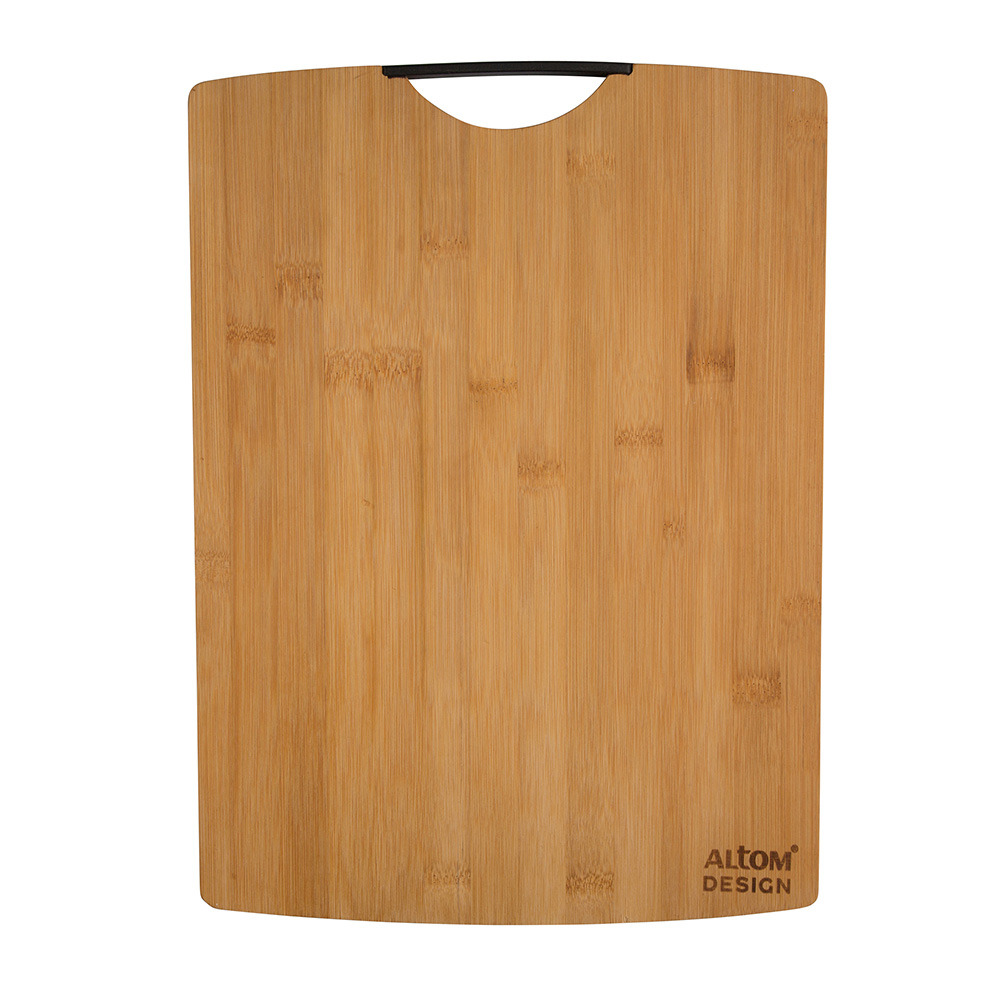 Organic bamboo cutting board 40x29x1,5 cm