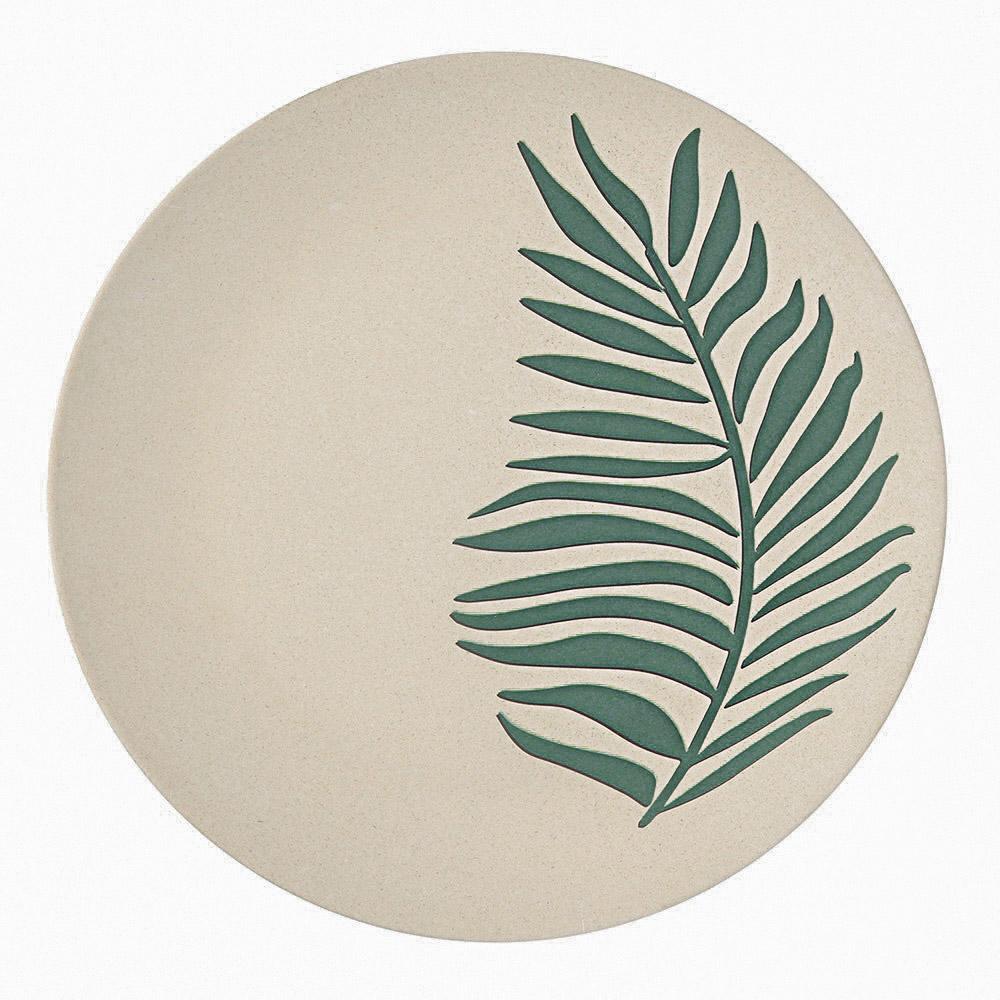 Organic talerz bambusowy 19,5 cm/Bądź Eko