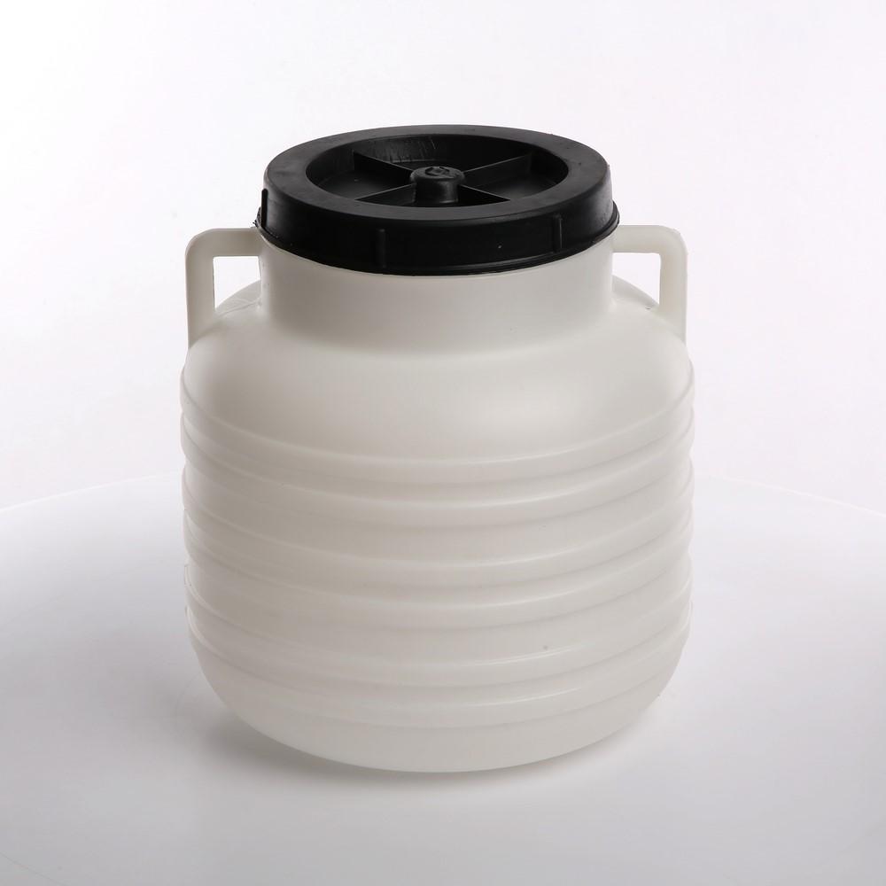 Słoik / Słój / Beczka do kiszenia / na zaprawy z uchwytami plastikowa Browin 10 l