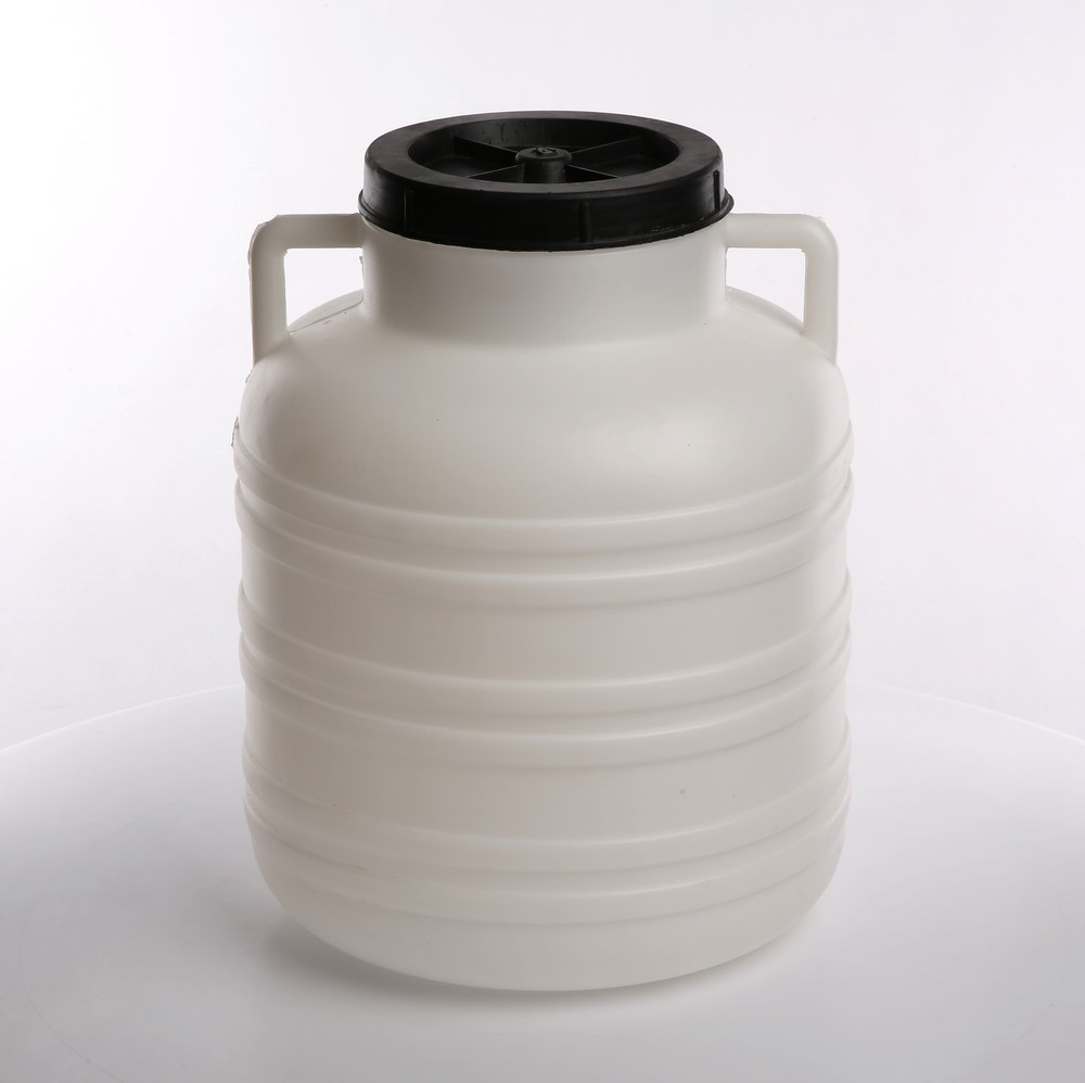 Słoik / Słój / Beczka do kiszenia / na zaprawy z uchwytami plastikowa Browin 20 l