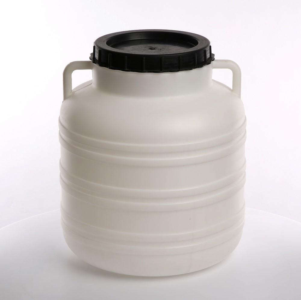 Słoik / Słój / Beczka do kiszenia / na zaprawy z uchwytami plastikowa Browin 30 l