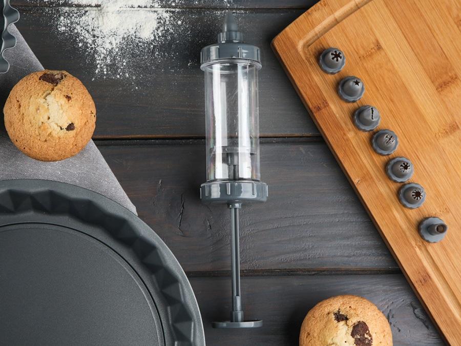 Dekorator do ciast i tortów strzykawka Altom Design (8 elementów)