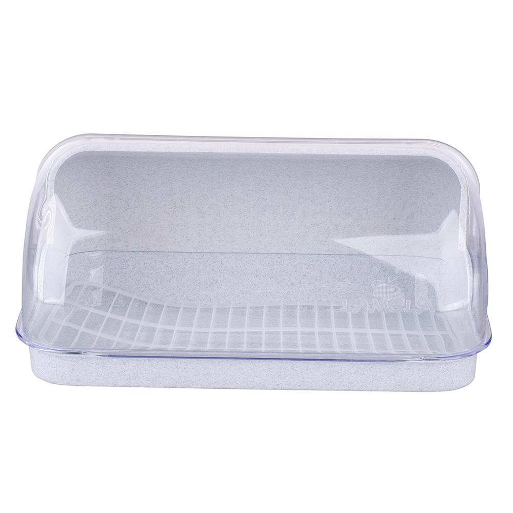 Chlebak plastikowy duży Lamela marmurek