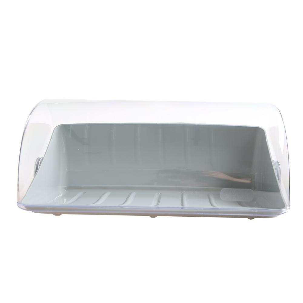 Chlebak / pojemnik na pieczywo z tworzywa sztucznego Lamela Graham jasny szary