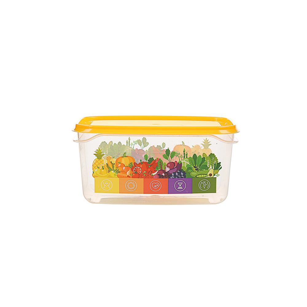 Pojemnik hermetyczny do przechowywania żywności Berossi Vitaline 0,5 l żółty