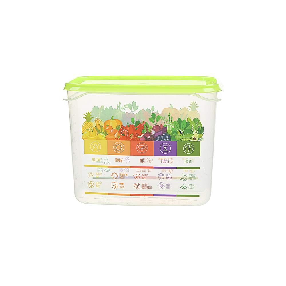 Pojemnik hermetyczny do przechowywania żywności Berossi Vitaline 1 l zielony