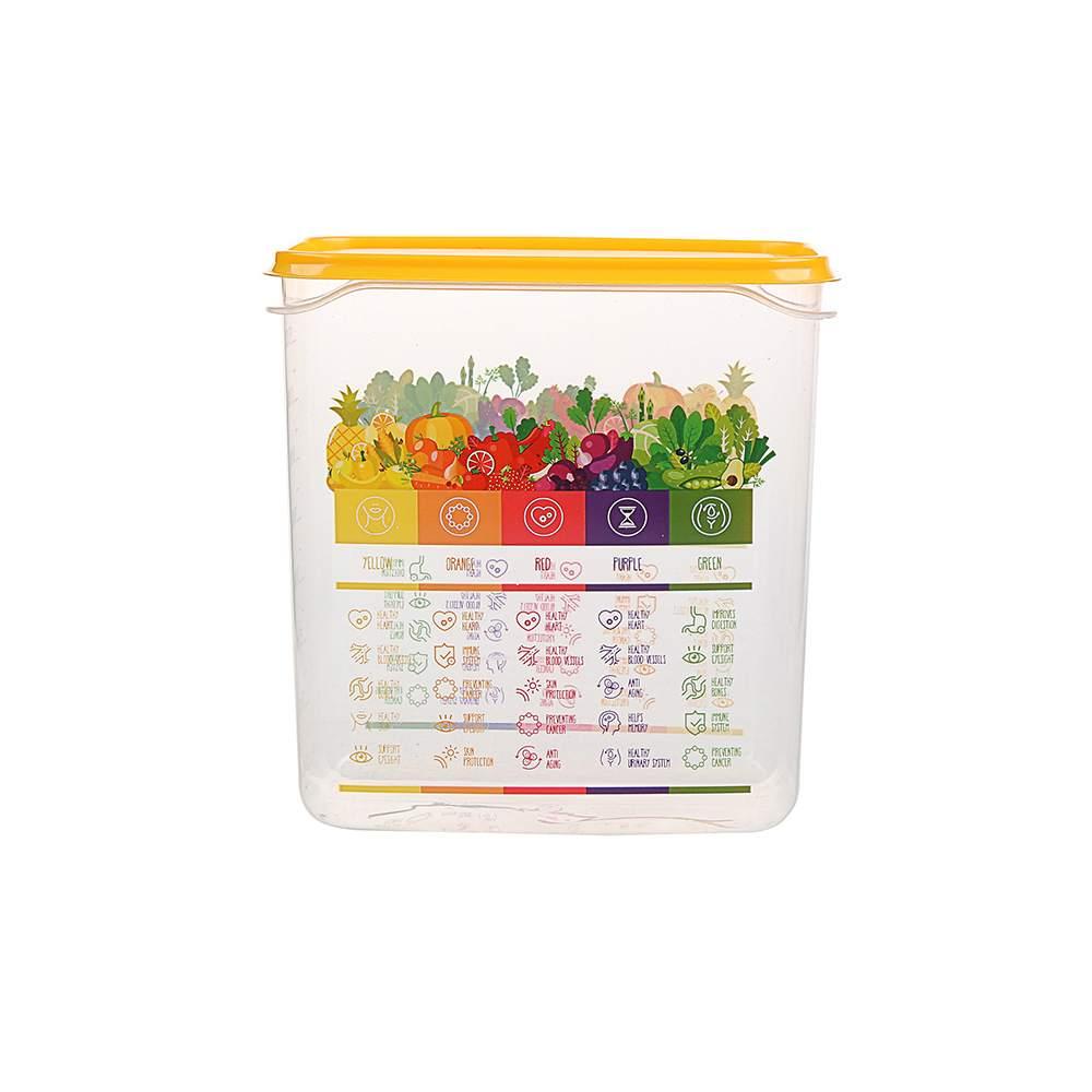 Pojemnik hermetyczny do przechowywania żywności Berossi Vitaline 1,5 żółty