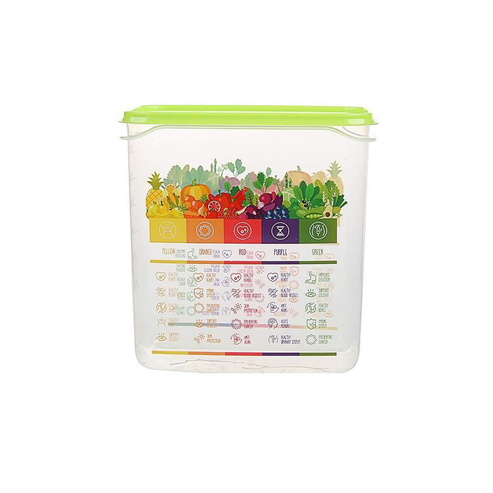 Pojemnik hermetyczny do przechowywania żywności Berossi Vitaline 1,5 l zielony