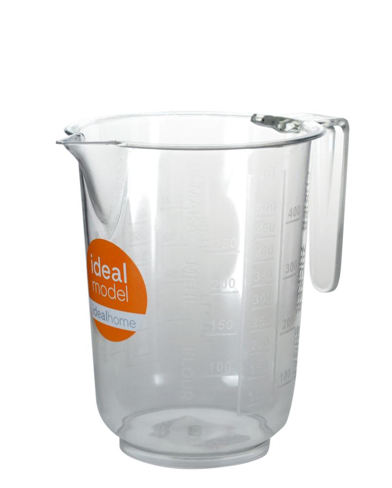 Dzbanek z miarką plastikowy MS Tworzywa dla Domu 0,5 l